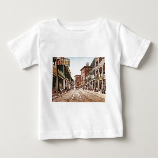 St. Charles Street New Orleans 1900 Baby T-Shirt
