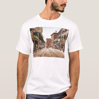 St. Charles Street New Orleans 1900 T-Shirt