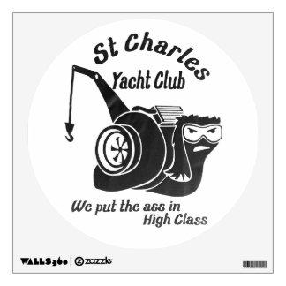 St. Charles Yacht Club Wall Sticker