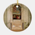 St. Christina Altarpiece Ceramic Ornament