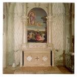 St. Christina Altarpiece Ceramic Tile