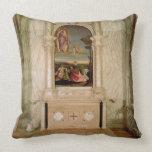 St. Christina Altarpiece Throw Pillow