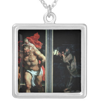 St Christopher and the Hermit Pendant