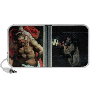 St. Christopher and the Hermit iPod Speakers