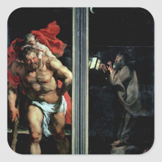St. Christopher and the Hermit Stickers