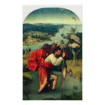 St. Christopher by Bosch Poster