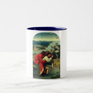 St. Christopher by Bosch Two-Tone Coffee Mug
