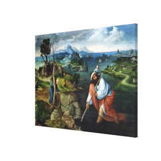 St. Christopher Canvas Print