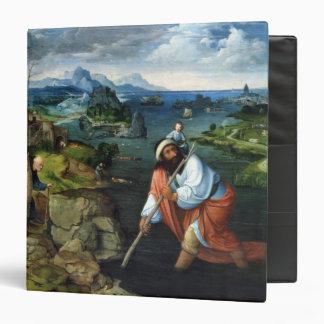 """St Christopher Carpeta 1 1/2"""""""
