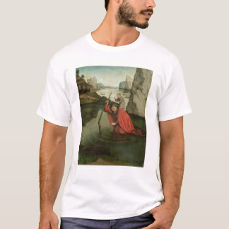 St. Christopher Carrying the Christ Child T-Shirt