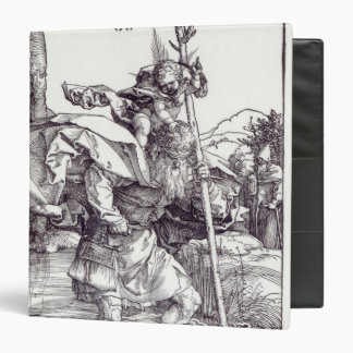 St.Christopher carrying the Infant Christ, 1511 3 Ring Binder
