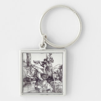 St.Christopher carrying the Infant Christ, 1511 Keychain