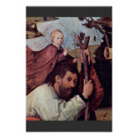 St. Christopher [Detail].,  By Hieronymus Bosch (B Poster