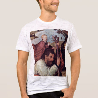 St. Christopher [Detail].,  By Hieronymus Bosch (B T-Shirt