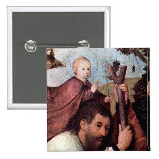 St Christopher, detalla el botón 2 Pin