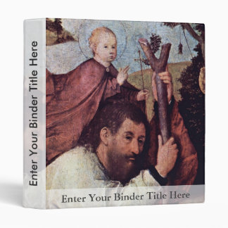 St Christopher [detalle]. , Por Hieronymus Bosch (