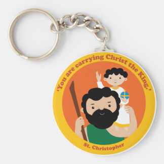 St. Christopher Keychain