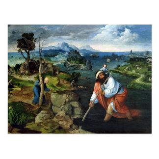 St. Christopher Postcard