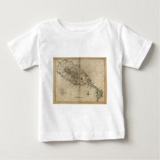 St. Christopher (St. Kitts), Caribbean Map Baby T-Shirt