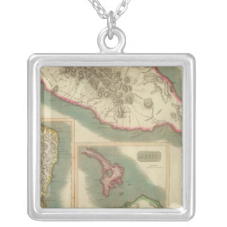 St Christophers 2 Silver Plated Necklace