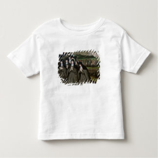 St. Claire with her Sister, Agnes and Nuns Toddler T-shirt