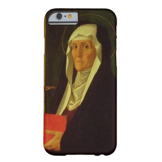 St. Clare, c.1485-90 (tempera en el panel) Funda De iPhone 6 Barely There