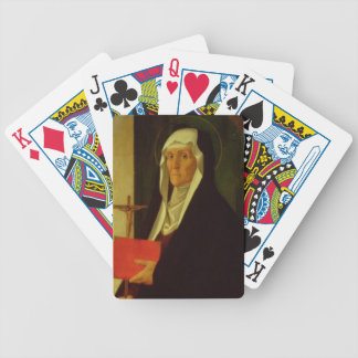 St. Clare, c.1485-90 (tempera on panel) Bicycle Playing Cards