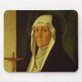 St. Clare, c.1485-90 (tempera on panel) Mouse Pad