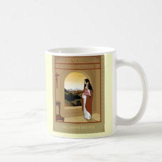 ST. CLARE COFFEE MUG