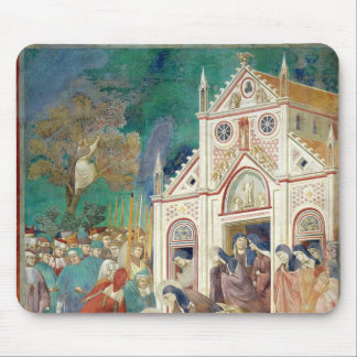 St. Clare Embraces the Body of St. Francis Mouse Pad