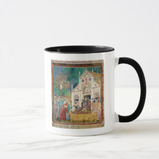 St. Clare Embraces the Body of St. Francis Mug