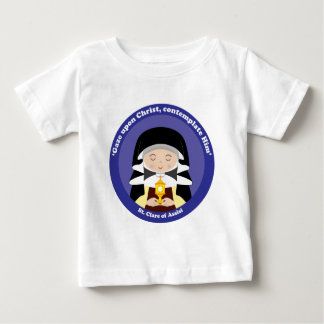 St. Clare of Assisi Baby T-Shirt