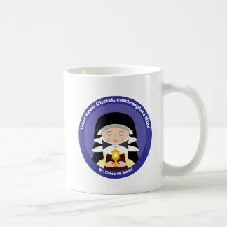 St. Clare of Assisi Coffee Mug
