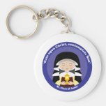 St. Clare of Assisi Key Chains
