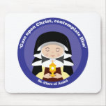 St. Clare of Assisi Mouse Pads