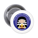 St. Clare of Assisi Pinback Button