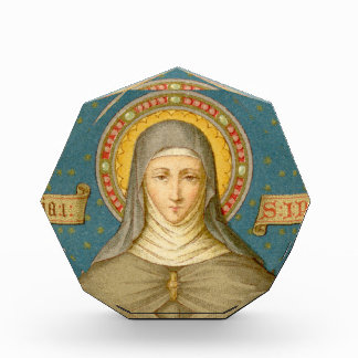 St. Clare of Assisi (SAU 02) Paperweight / Acrylic Acrylic Award