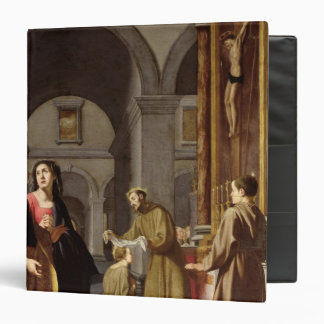 St. Clare Receiving the Veil from St. Francis Binder