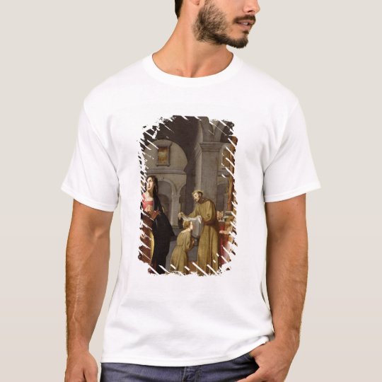St. Clare Receiving the Veil from St. Francis T-Shirt