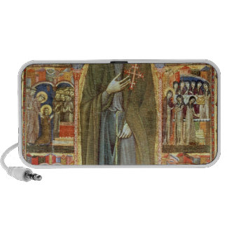 St. Clare with Scenes from her Life Mini Speaker