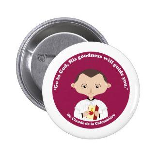 St. Claude La Colombiere Pinback Button