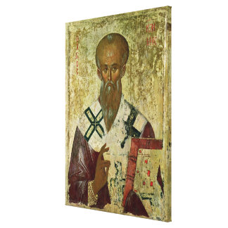 St. Clement, 14th-15th century Canvas Print