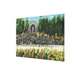 St. Clement's College Grotto Gallery Wrapped Canvas