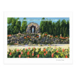 St. Clement's College Grotto Postcard