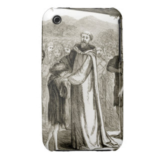 St. Columba blesses a wild boy, from 'The Trias Th iPhone 3 Cases