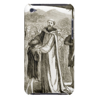 St. Columba blesses a wild boy, from 'The Trias Th iPod Touch Covers