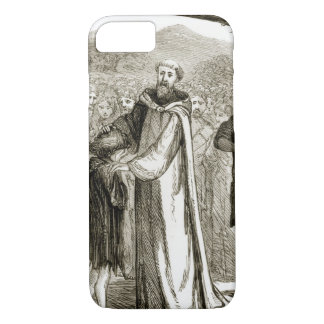 St. Columba blesses a wild boy, from 'The Trias Th iPhone 7 Case