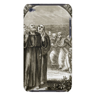 St. Columba chanting, and attacked by the Druids, Barely There iPod Covers