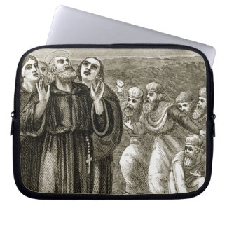 St. Columba que canta, y atacado por los druidas, Fundas Computadoras