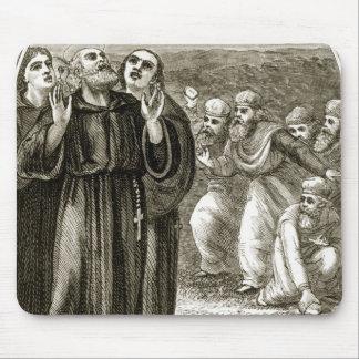 St. Columba que canta, y atacado por los druidas, Mouse Pad